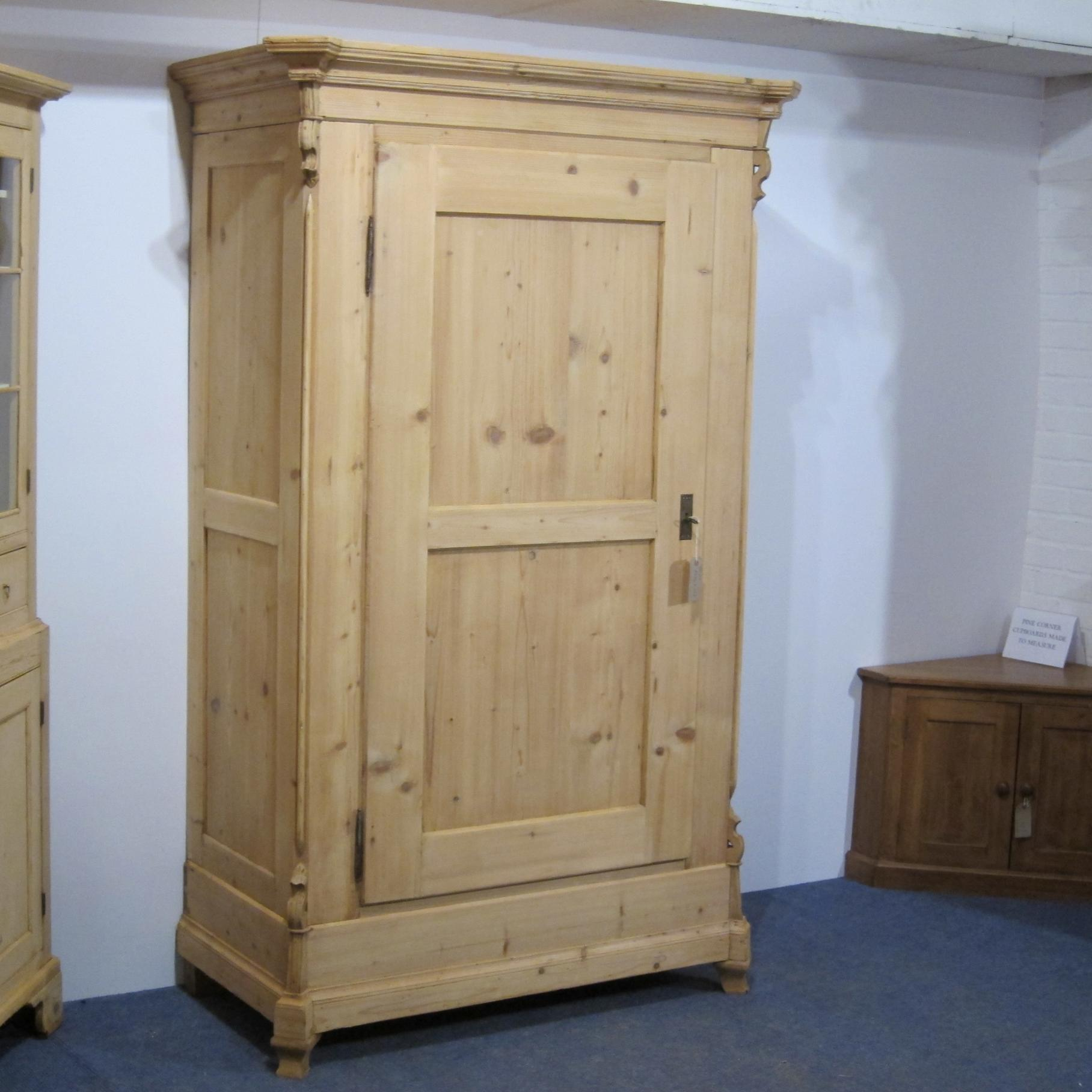 asp narrow single door oak sold wardrobe p