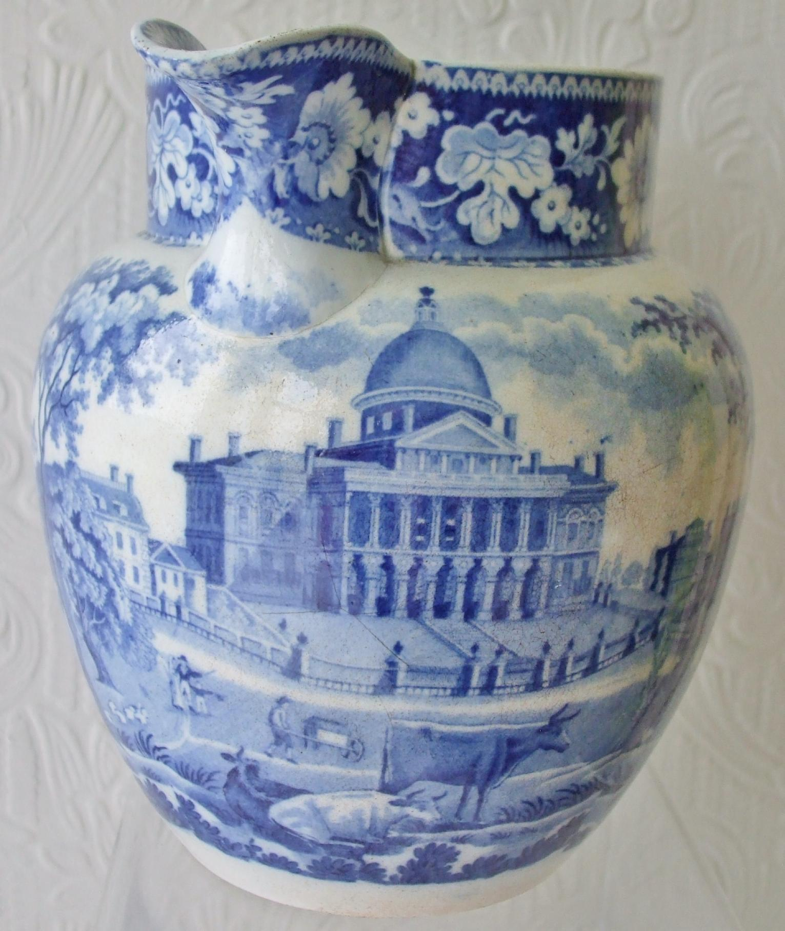 Blue and white pottery - Click To View Larger Photo