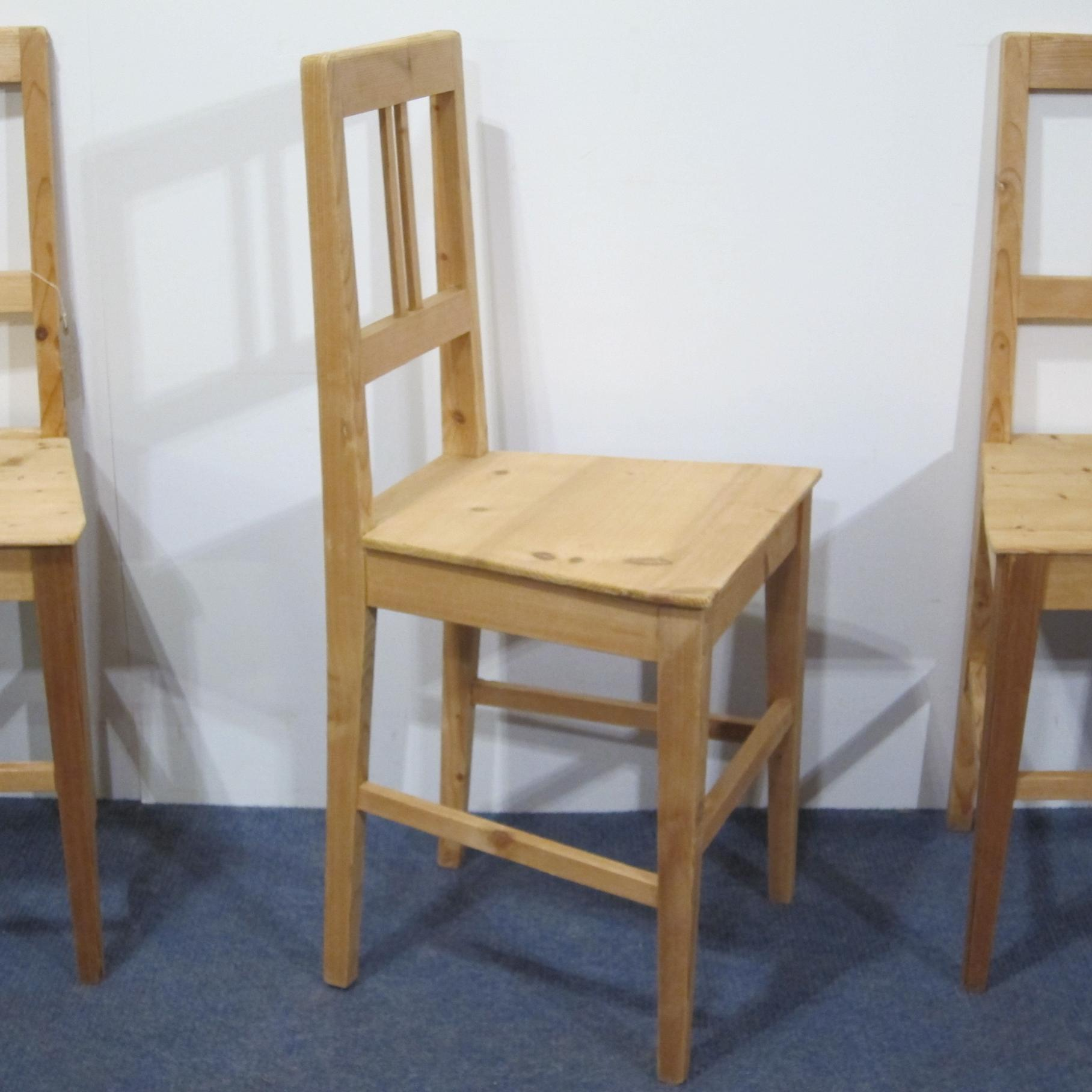 Farmhouse Kitchen Dining: Antique Farmhouse Kitchen Dining Room Chairs C1920s