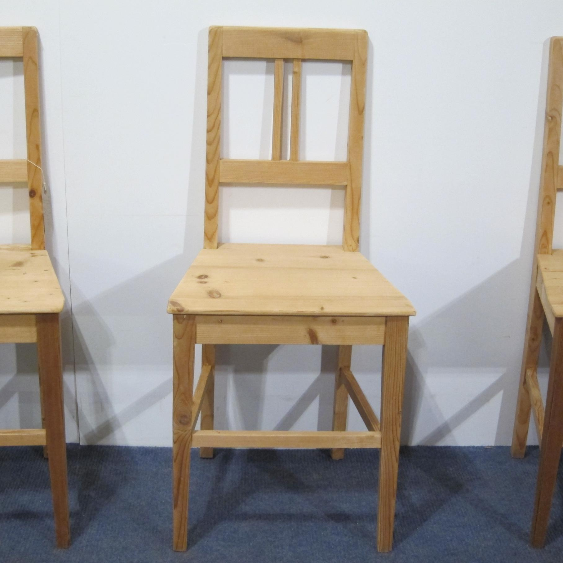 Antique farmhouse kitchen dining room chairs c1920s for Kitchen dining room chairs
