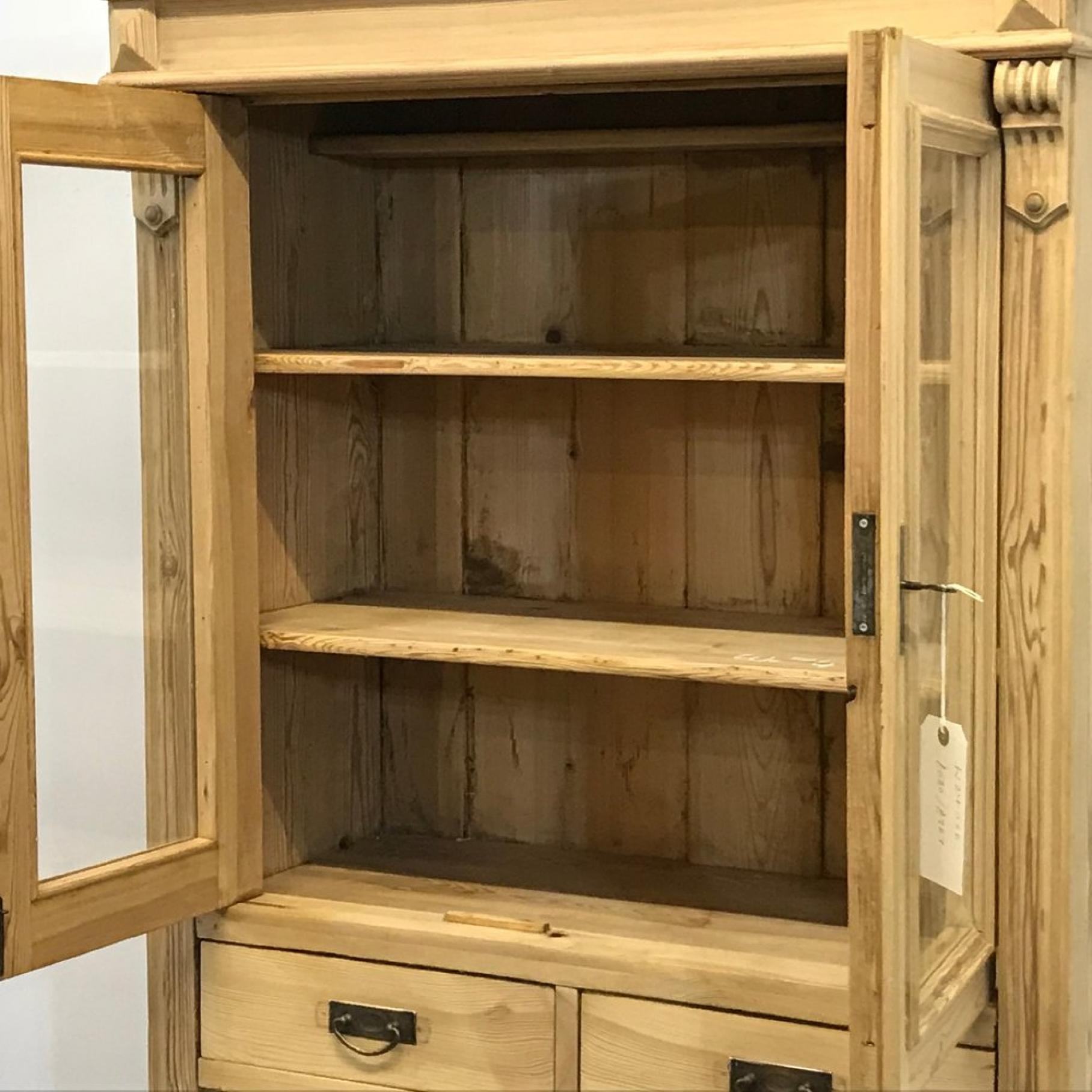 Pine China Cabinet Cabinets Decorating Ideas